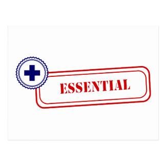 Esencial • Primer respondedor Tarjetas Postales