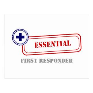Esencial • Primer respondedor Postales