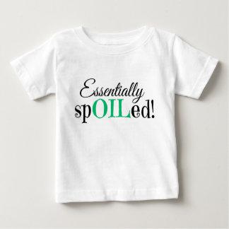¡Esencialmente estropeado! Camiseta infantil Playera