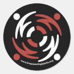 ESF Black Sticker Large with Website
