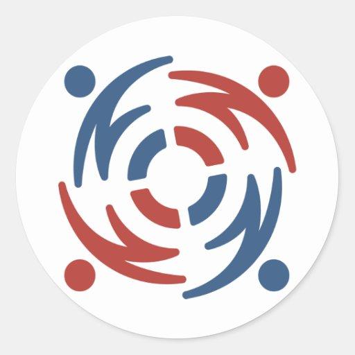 ESF White Sticker Small