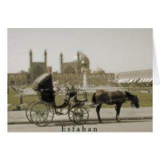 Esfahan Greeting Card
