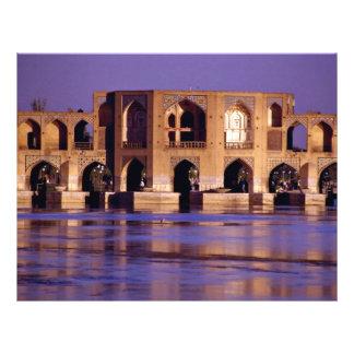 Esfahan, Irán Tarjeta Publicitaria