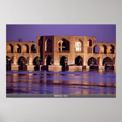 Esfahan, Irán Póster