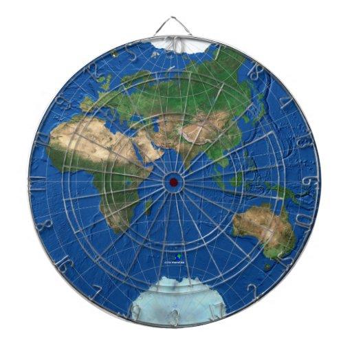 Esfera 3 del mapa del mundo: Europa Asia África Au
