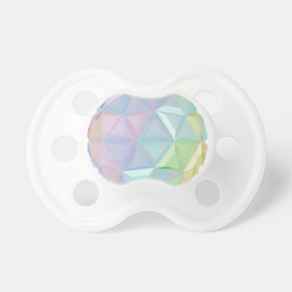 Esfera abstracta colorida chupetes para bebes