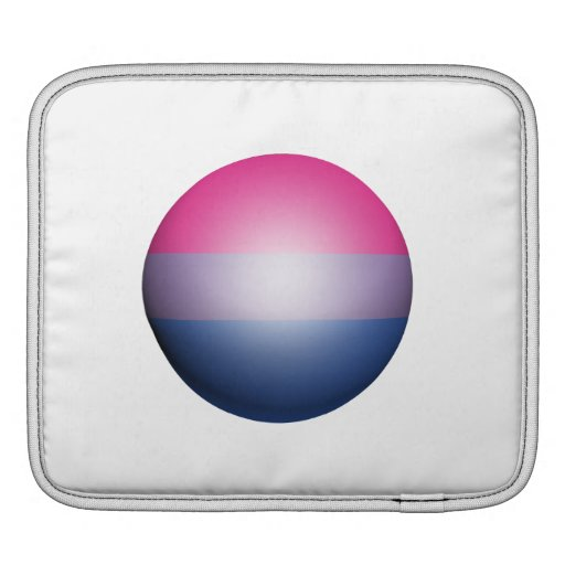 ESFERA BISEXUAL DEL ORGULLO MANGAS DE iPad