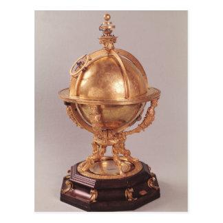 Esfera celestial c 1580 postales