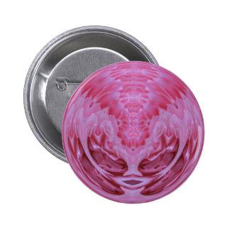 Esfera color de rosa rosada pins