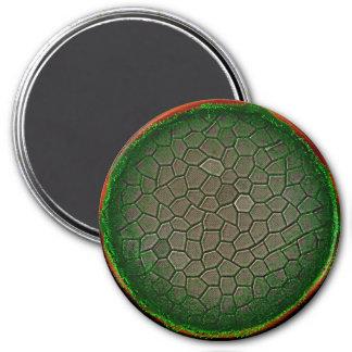 Esfera de la naturaleza imán redondo 7 cm