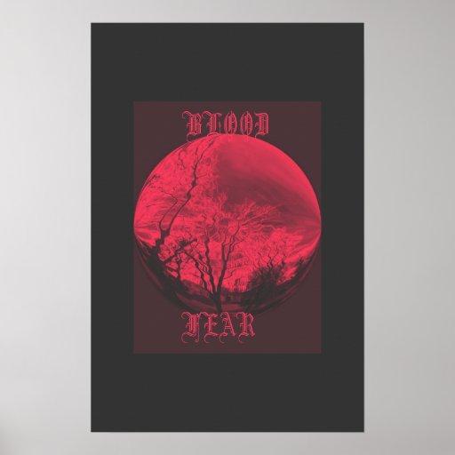Esfera de la sangre poster