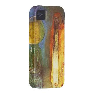 Esfera de oro de Odilon Redon iPhone 4 Carcasa