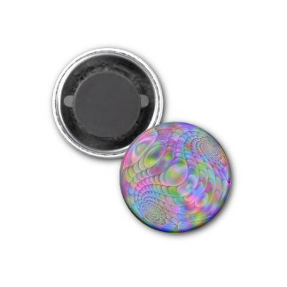 esfera del fractal imán redondo 3 cm