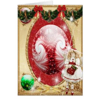 Esfera encantada rara tarjeta