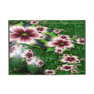 Esfera floral del verano iPad mini protectores