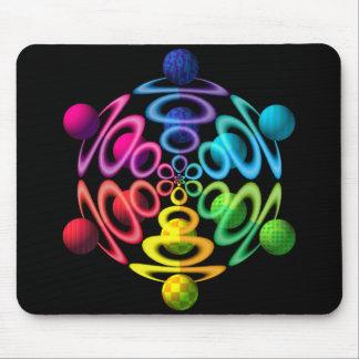Esfera Popper Mousepad del arco iris Alfombrillas De Ratones