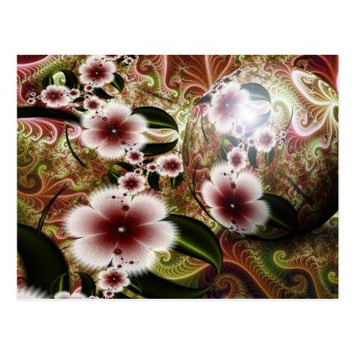 Esfera real del jardín # 13 tarjetas postales
