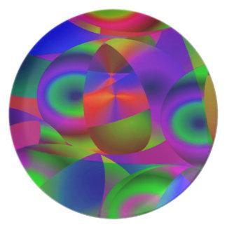 Esferas abstractas platos