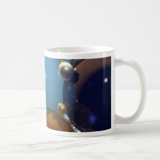 Esferas del cgi taza de café