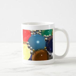 Esferas del cgi tazas de café