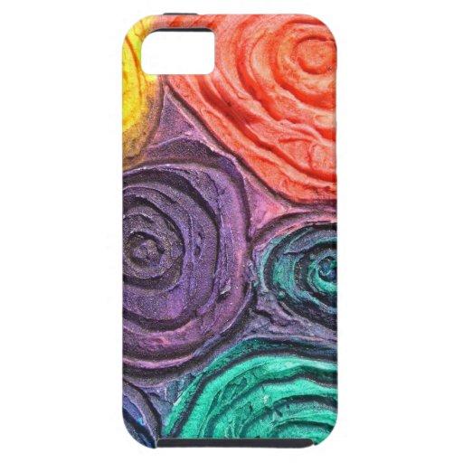 Esferas del color, 3D caso del iPhone 5 Funda Para iPhone SE/5/5s