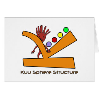 Esferas del poder de KUU Tarjeta De Felicitación
