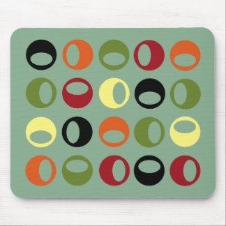 Esferas modernas abstractas Mousepad Tapete De Raton