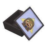 Esfinge de Chibi con las pirámides Cajas De Recuerdo De Calidad