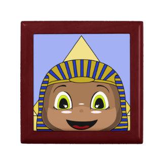 Esfinge de Chibi con las pirámides Cajas De Regalo