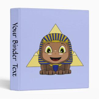 Esfinge de Chibi con las pirámides