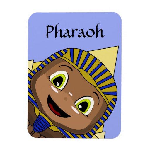 Esfinge de Chibi con las pirámides Imán Flexible