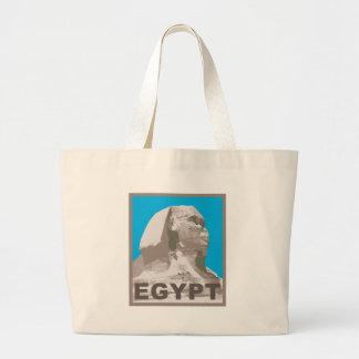 Esfinge de Egipto Bolsa Tela Grande