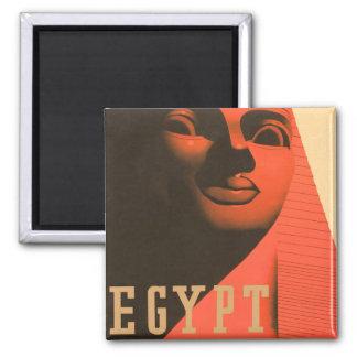 Esfinge de Egipto del vintage Iman Para Frigorífico