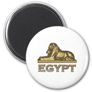 Esfinge de Egipto Imán Redondo 5 Cm