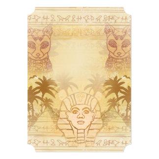 Esfinge de la invitación de Giza