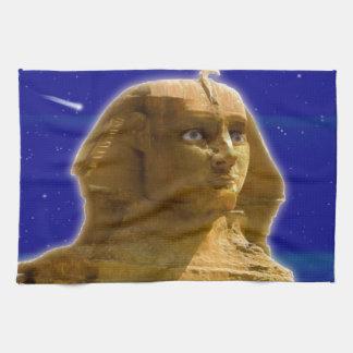 Esfinge egipcia antigua en el diseño del arte de G Toalla De Cocina