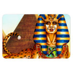 Esfinge egipcia antigua iman rectangular