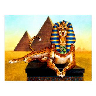 Esfinge egipcia antigua tarjetas postales