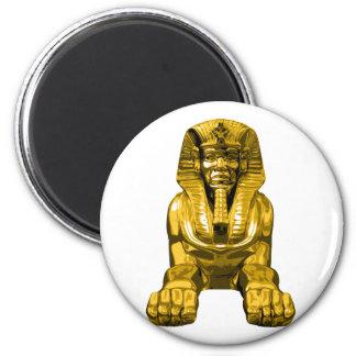 Esfinge egipcia imán redondo 5 cm