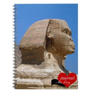 Esfinge, Egipto antiguo, pirámides No.2 (cuaderno) Libretas