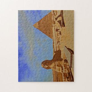esfinge Egipto de las pirámides Puzzle Con Fotos