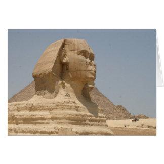 esfinge Egipto Tarjeta De Felicitación