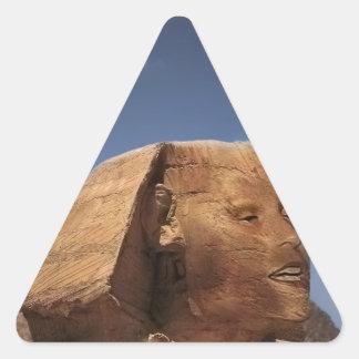 Esfinge Petra Pegatina Triangular