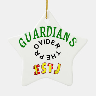 ESFJ Guardian Personality Ceramic Ornament