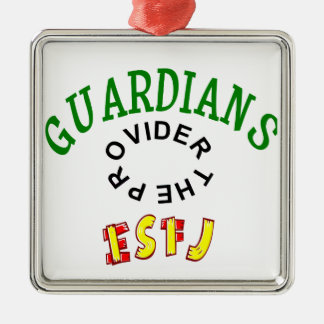 ESFJ Guardian Personality Metal Ornament