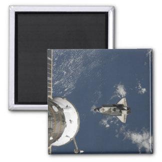 Esfuerzo 17 del transbordador espacial imán cuadrado