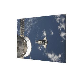 Esfuerzo 17 del transbordador espacial impresiones en lienzo estiradas