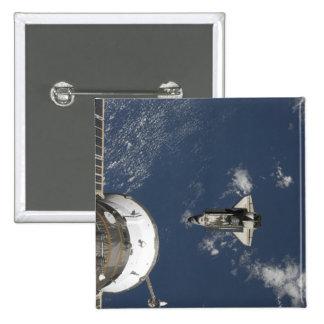 Esfuerzo 17 del transbordador espacial pin cuadrado