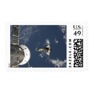 Esfuerzo 17 del transbordador espacial timbres postales