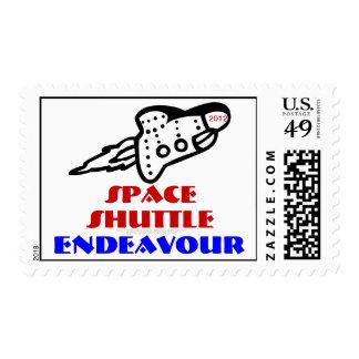 Esfuerzo 2012 de Suttle del espacio Sello Postal